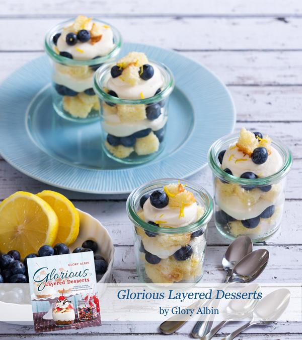 Glorious Layered Desserts Lemon-blueberry-trifle
