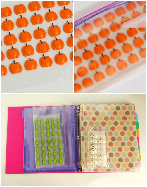 How to Store Royal Icing Transfers by www.thebearfootbaker