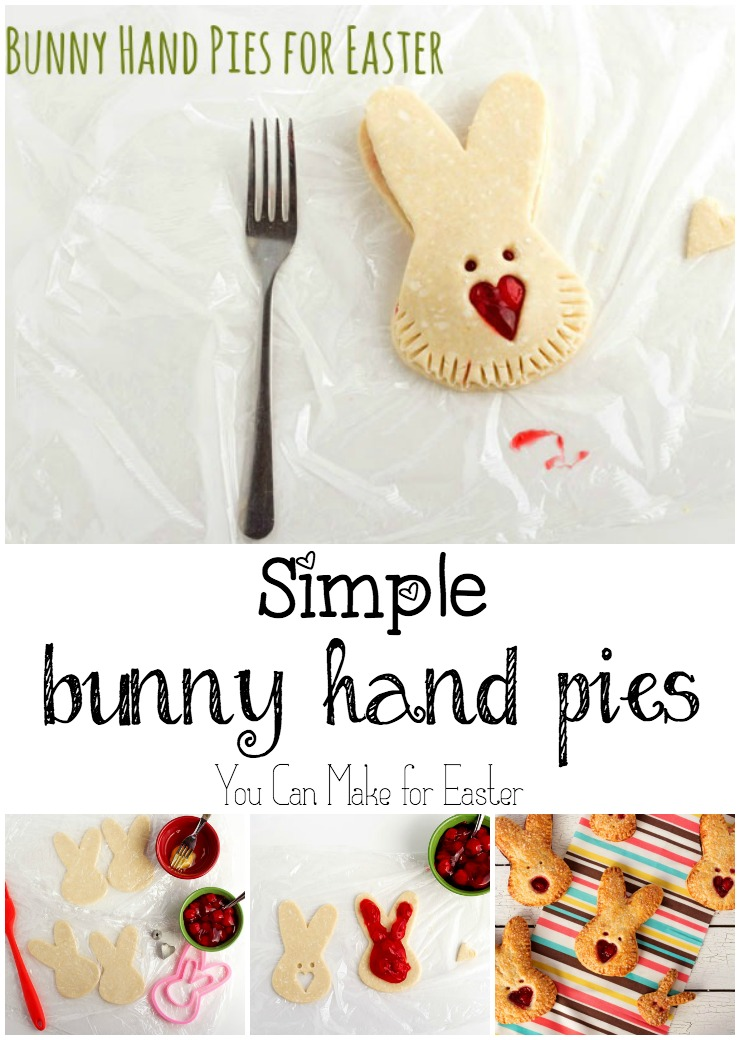 Bunny Hand Pies for Easter | The Bearfoot Baker