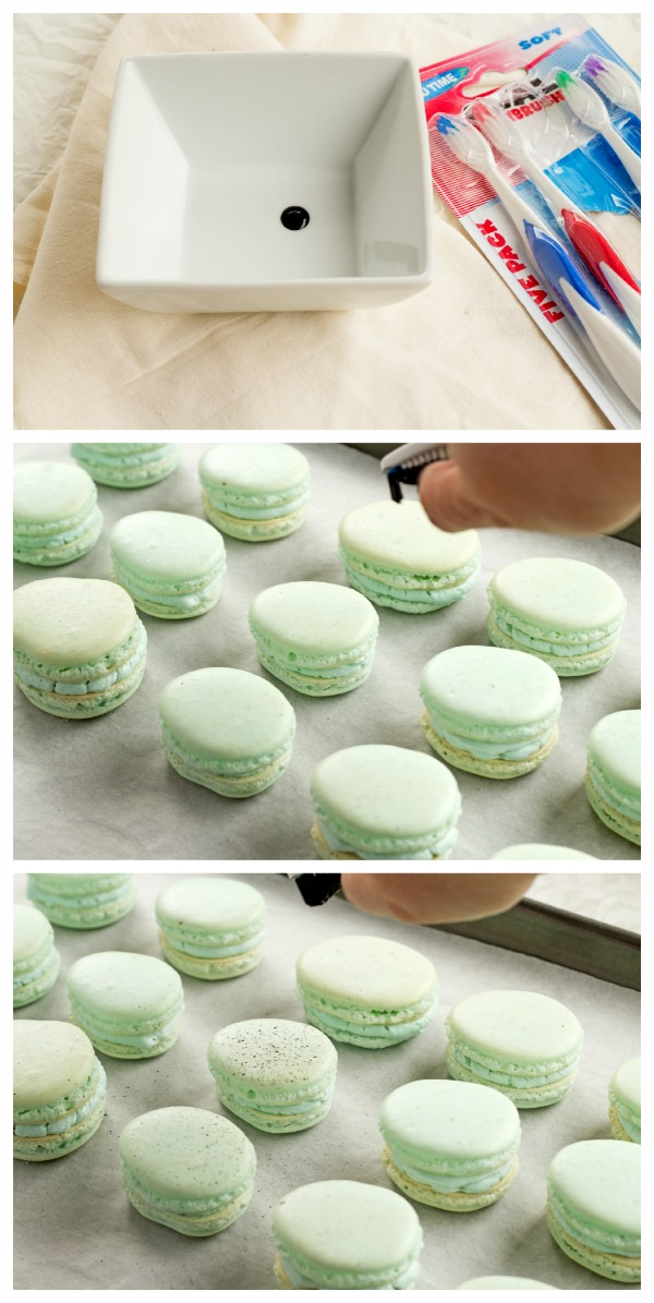 Simple Egg Shaped Macarons for Easter with thebearfootbaker.com