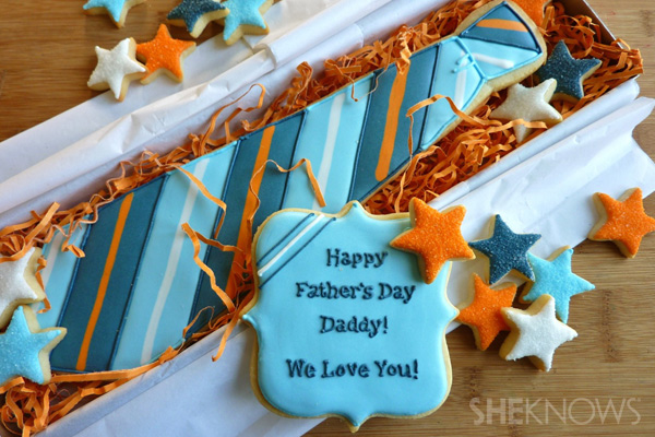 Father's Day Cookie Idea by She Knows
