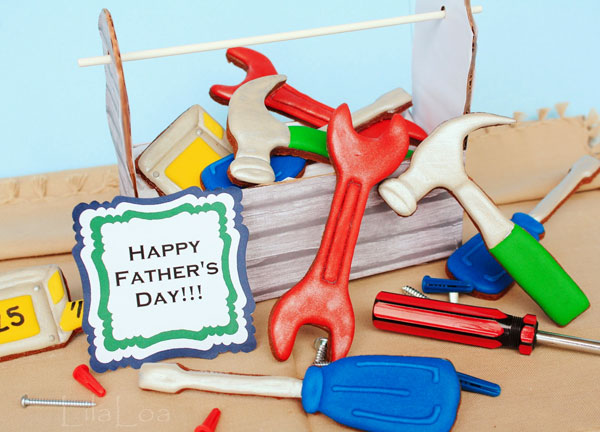 Father's-Day-Cookie-Ideas---Father's-Day-Tool-Cookies-Part-1