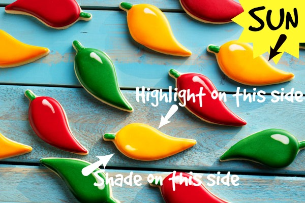 How to Decorate Chili Pepper Cookies with Royal Icing with www.thebearfootbaker.com.jpg