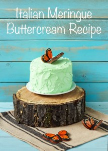 Simple Italian Meringue Buttercream Recipe via thebearfootbaker.com