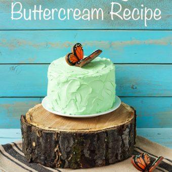 Simple Italian Meringue Buttercream Recipe via thebearfootbaker.com