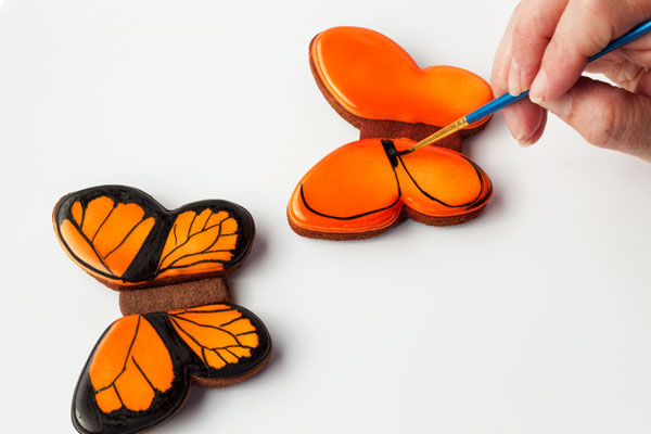 Simple butterfly cookies by The Bearfoot Baker
