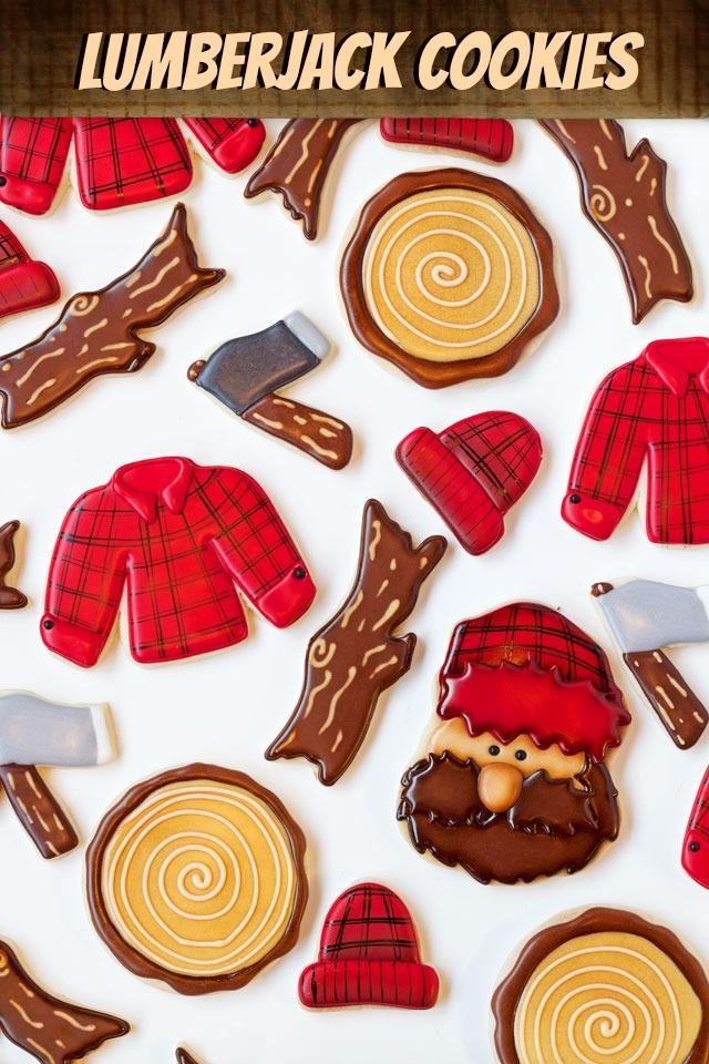 Lumberjack Cookies thebearfootbaker.com