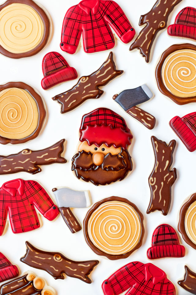 Lumberjack Cookies via thebearfootbaker.com