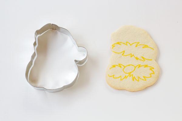 Simple Lumberjack Cookies -Sugar Cookies Decorated with Royal Icing thebearfootbaker.com