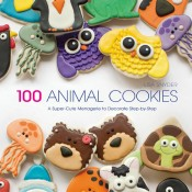 100 Animal Cookies Book by thebearfootbaker.com
