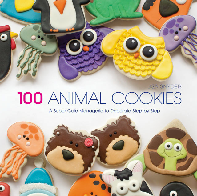 100 Animal Cookie Book by thebearfootbaker.com