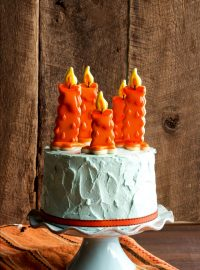 Birthday Candle Cookies via thebearfootbaker.com