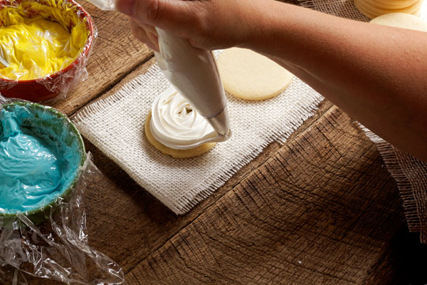 Easy Rose Swirl Cookies www.thebearfootbaker.com