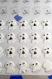 Skull Royal Icing Transfers -FREE Template