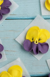 Icing Pansies – Tutorial with Video