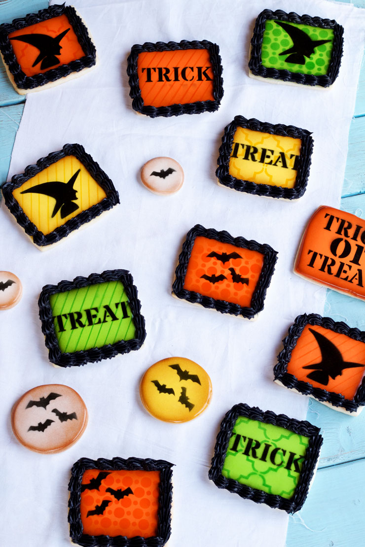 Simple Halloween Cookies