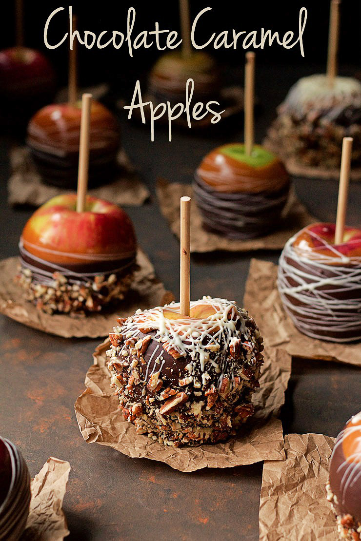 Chocolate Caramel Apples Find Out My Secret for Perfect Apples Every Time | The Bearfoot Baker