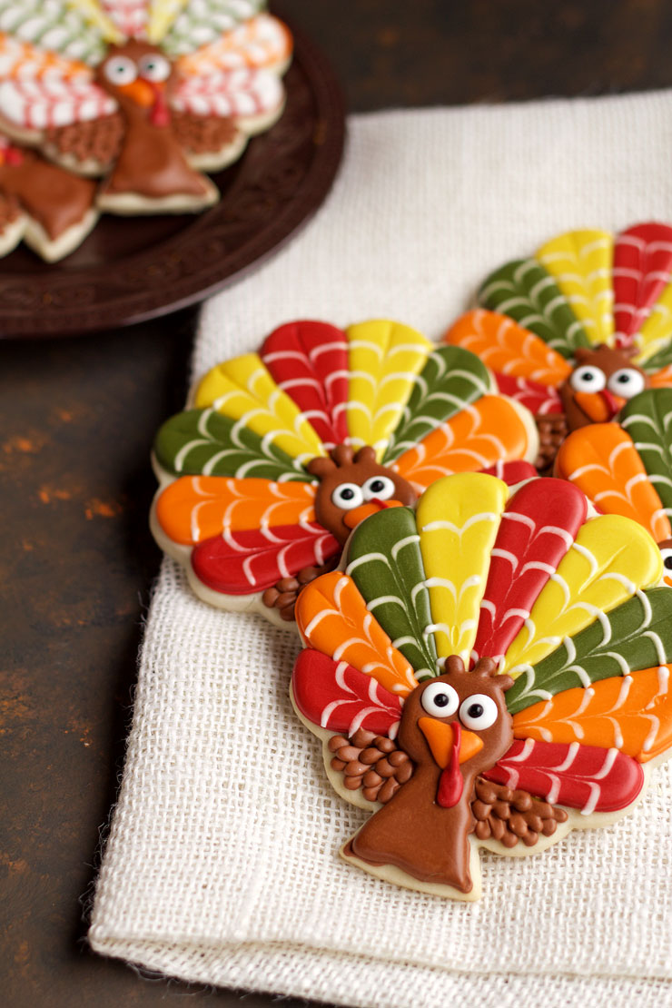 Decorated Turkey Cookies | The - 167.8KB