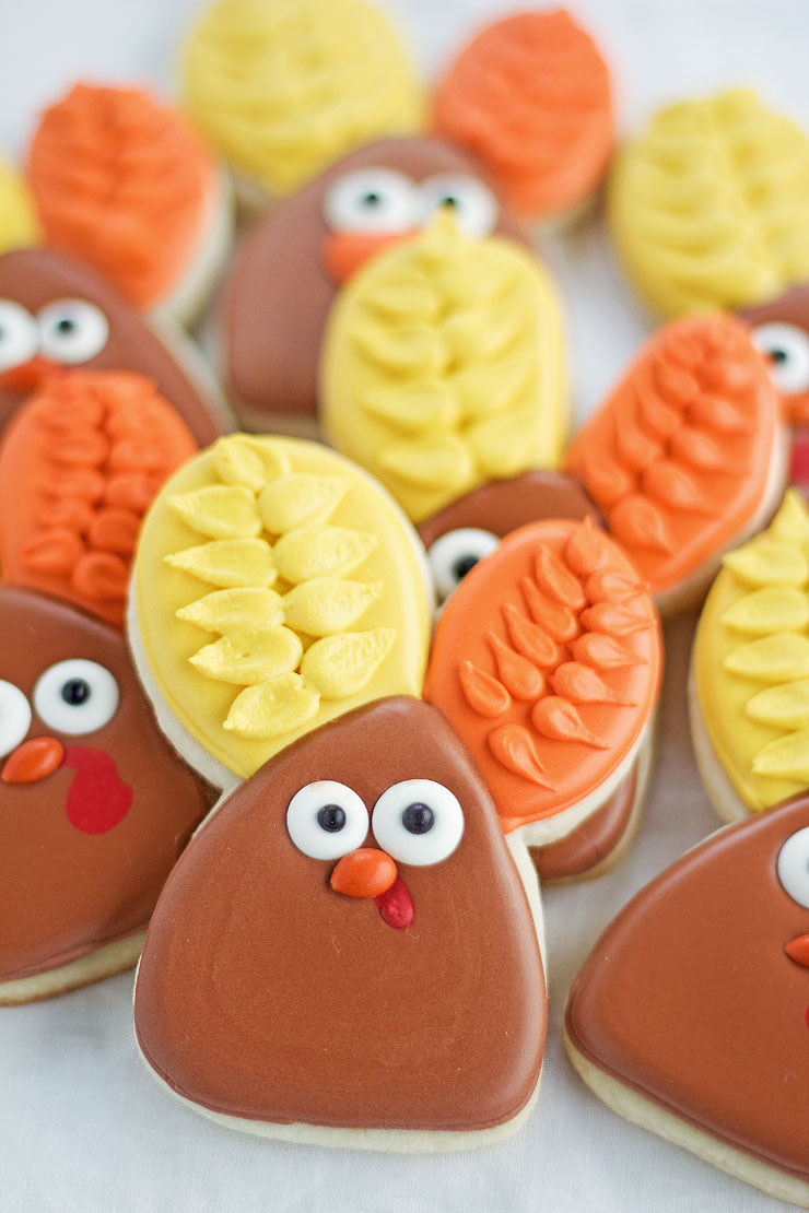 """Decorated-Turkey-Cookies"""