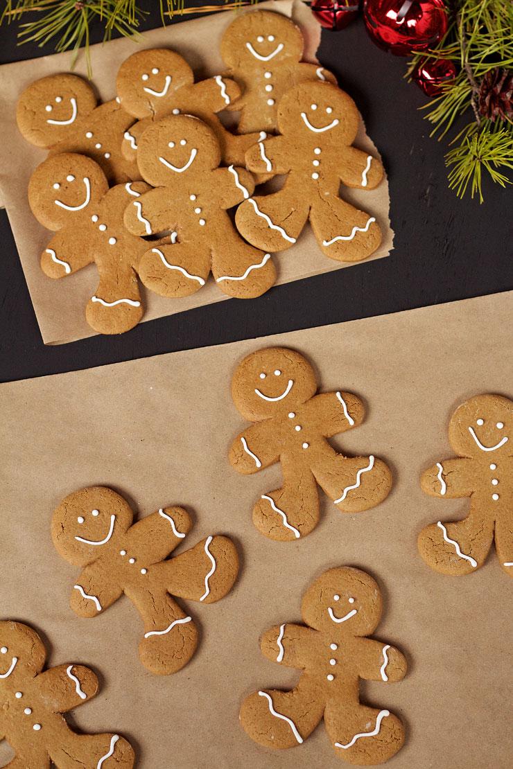 Fun Gingerbread Man Cookies - Use one Gingerbread Man Cookie Cutter ...