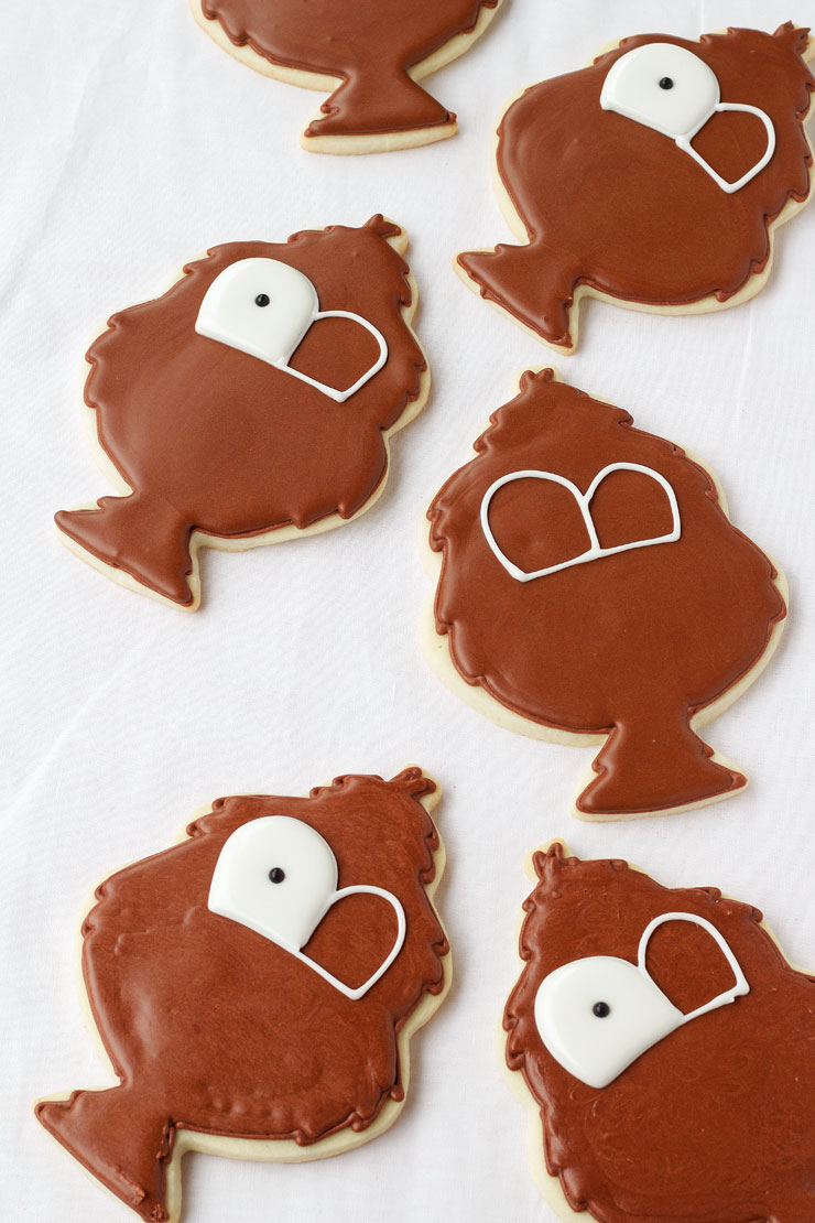 Tom Turkey Cookies - Decorated Sugar Cookies with Royal Icing thebearfootbaker.com