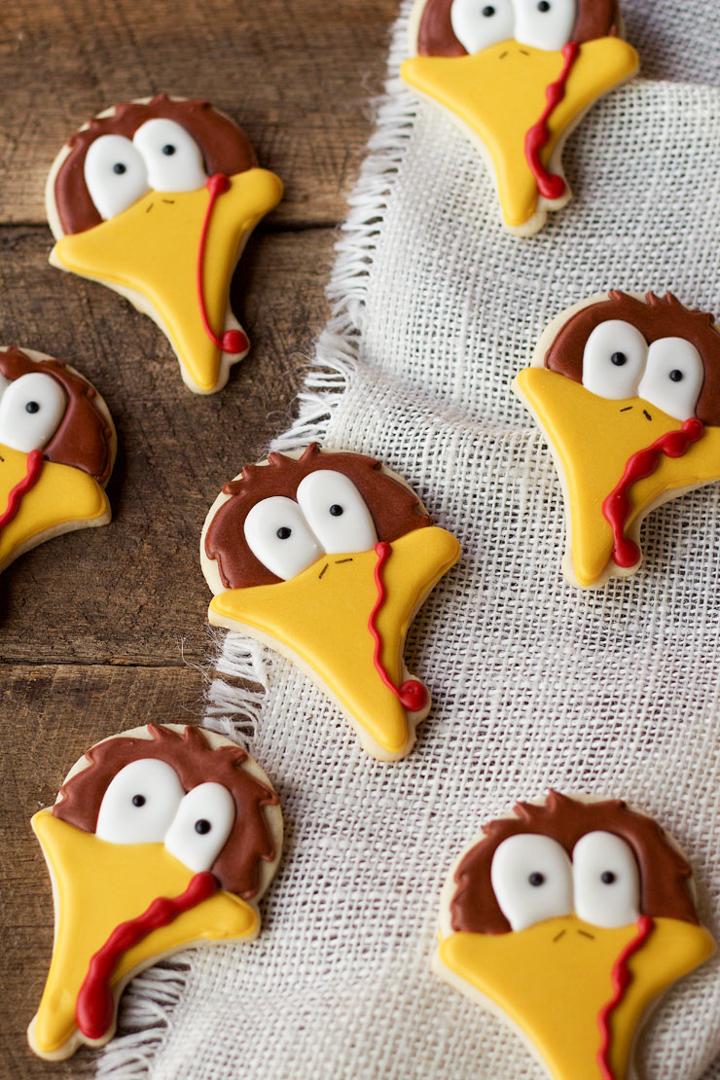 turkey, turkey cookies, Thanksgiving, Thanksgiving Cookies, Sugar Cookies,
