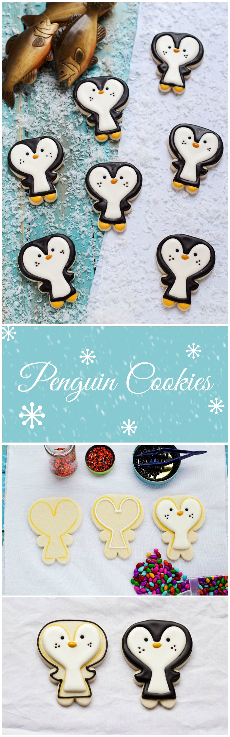 Easy Penguin Cookies | The Bearfoot Baker