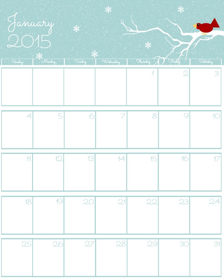 Free Calendar Printables September : Free printable calendar the bearfoot baker