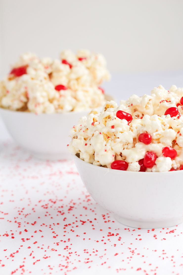Popcorn Candy Recipe - This stuff is so addictive it should come with a warning label via www.thebearfootbaker.com