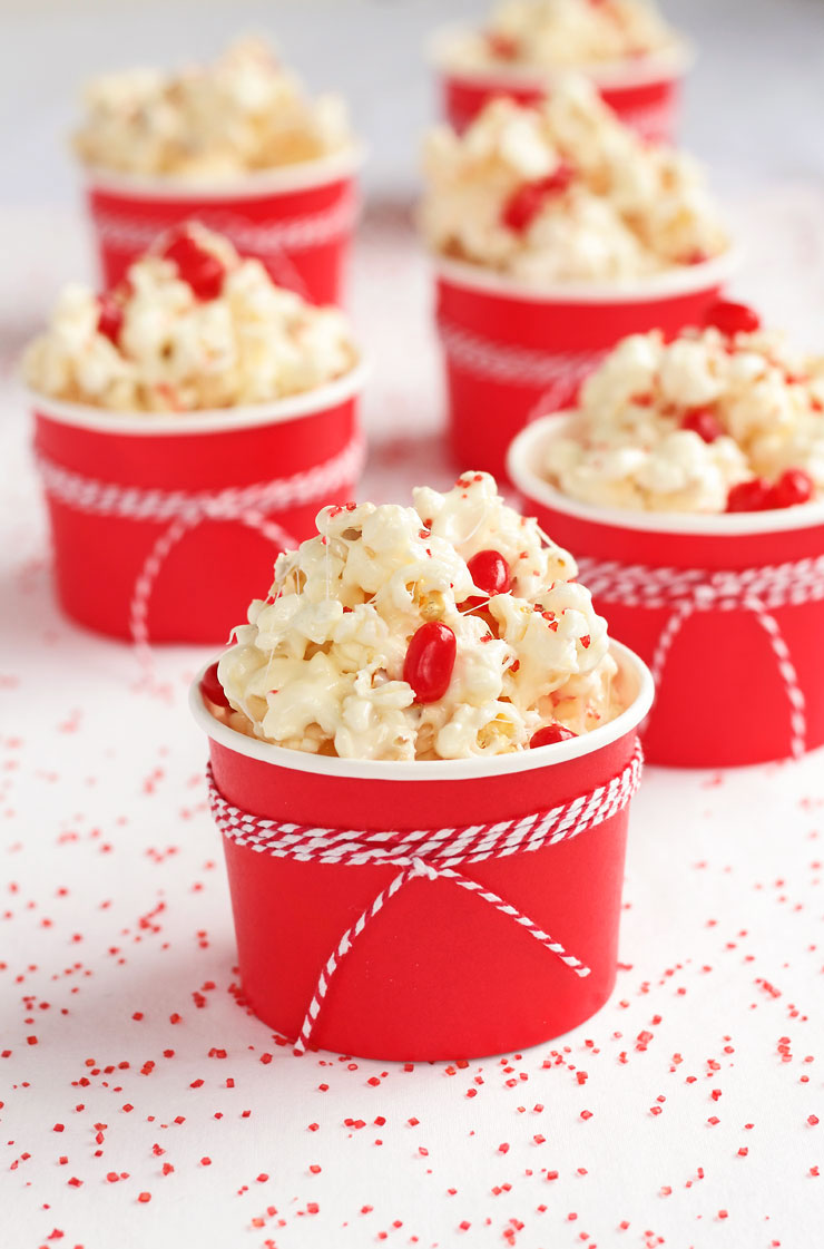 Popcorn Candy Recipe - This stuff is so addictive it should come with a warning label! via www.thebearfootbaker.com