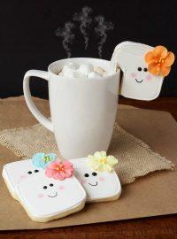 Simple Marshmallow Cookies thebearfootbaker.com