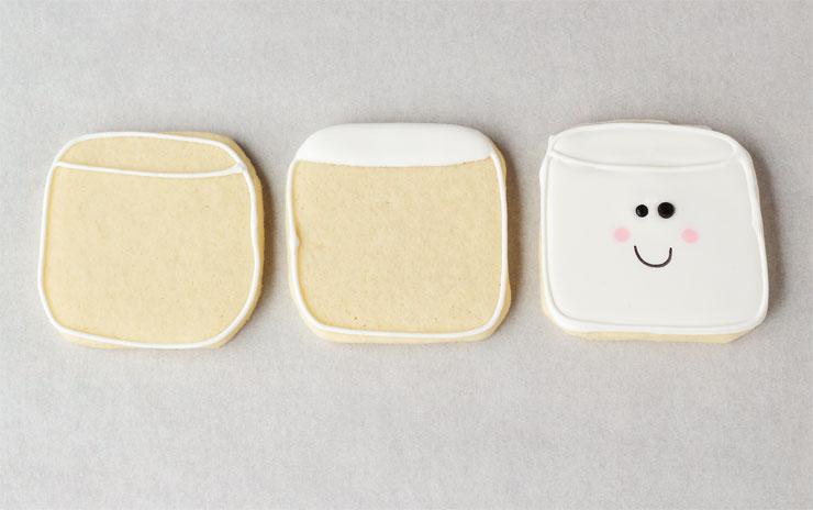 Simple Marshmallow Cookies via www.thebearfootbaker.com