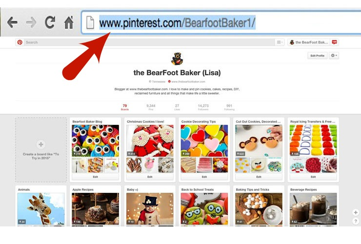 Pinterest Friend- Will you be my Pinterest Friend? by www.thebearfootbaker.com