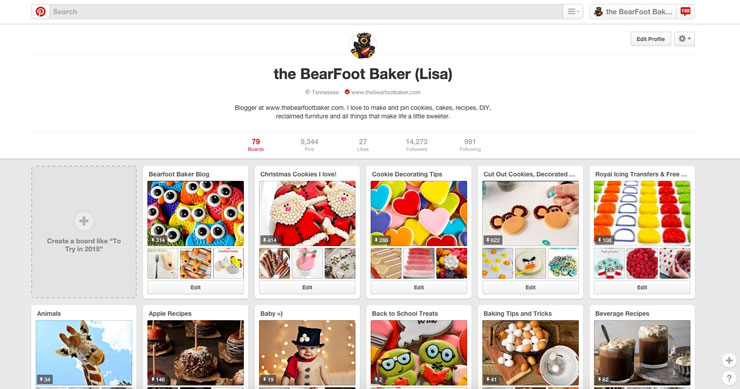 Pinterest Friend- Will you be my Pinterest Friend? www.thebearfootbaker.com