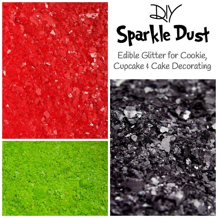 DIY Sparkle Dust via www.thebearfootbaker.com