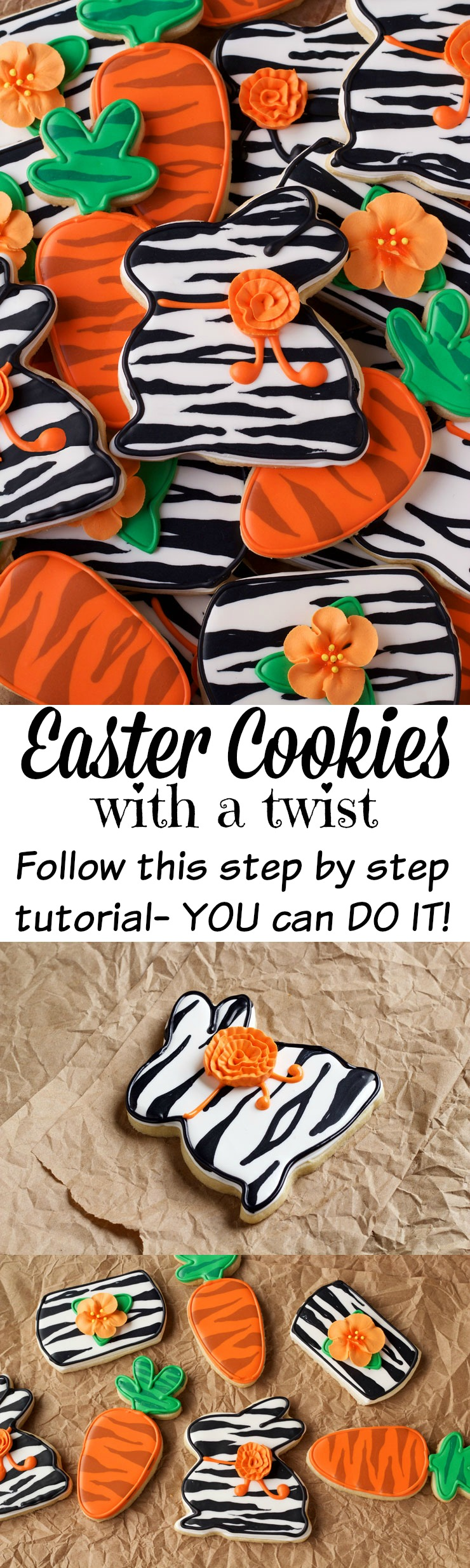 Easter cookies with a twist the bearfoot baker easter cookies with a twist sugar cookies decorated with royal icing thebearfootbaker nvjuhfo Choice Image