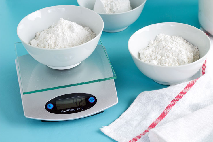 FREE PRINTABLE Baking Weight Chart - Does weighing your ingredients really matter? via thebearfootbaker.com
