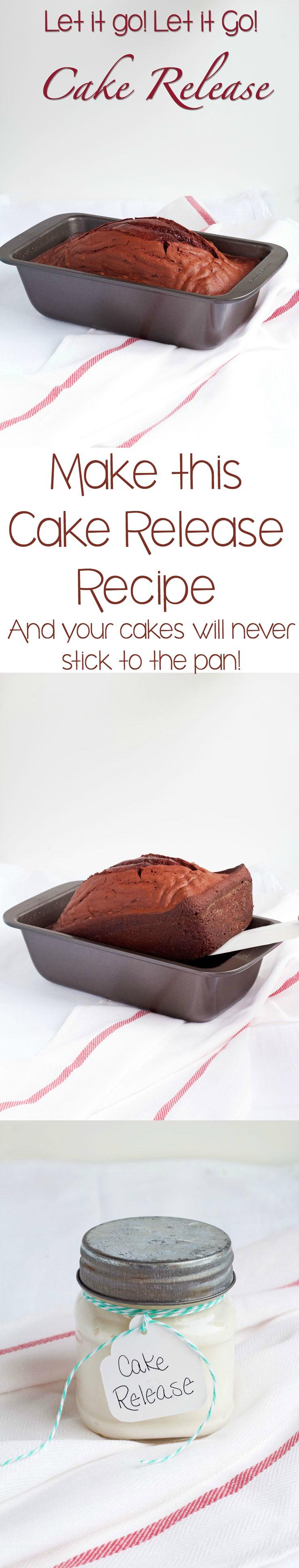 Let it Go! Let it Go! Cake Release Recipe via www.thebearfootbaker.com