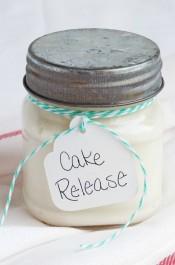 Really Easy Cake Release Recipe via www.thebearfootbaker.com