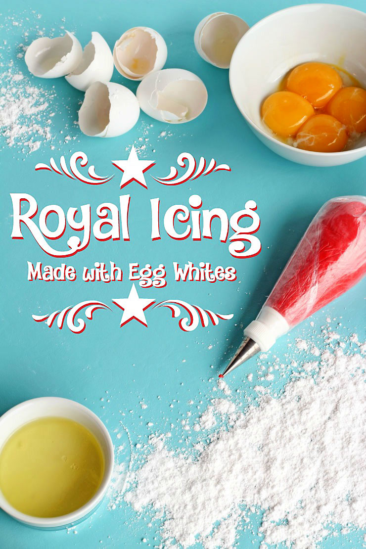 Egg White Royal Icing Recipe by www.thebearfootbaker.com