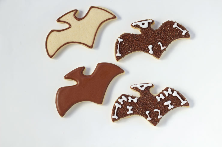 Simple Dinosaur Cookies -Sugar Cookies Decorated with Royal Icing with thebearfootbaker.com