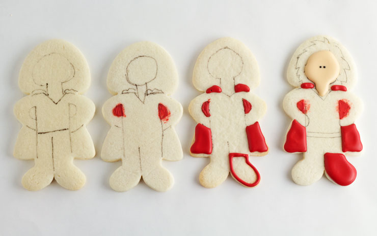 How to Make Superdad Hero Cookies for Father's Day by www.thebearfootbaker.com