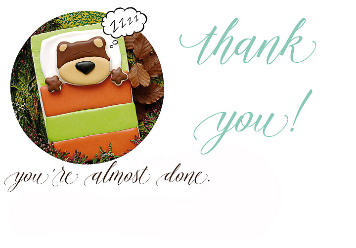 Thank you!   The Bearfoot Baker