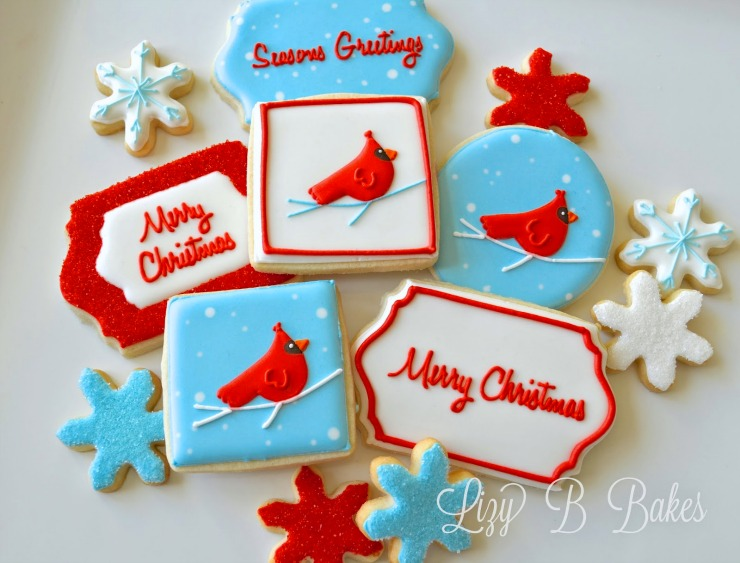 Christmas Cardinal Cookies! by LizyB