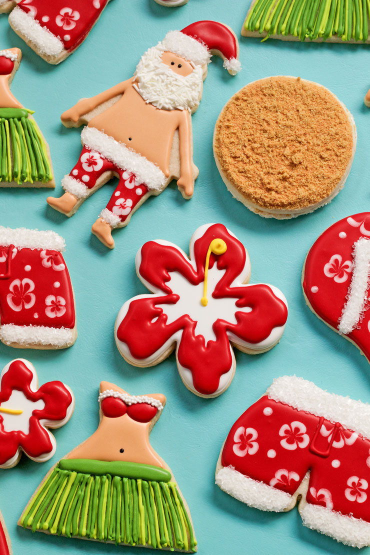 How To Make A Fun Hibiscus Cookie Video The Bearfoot Baker