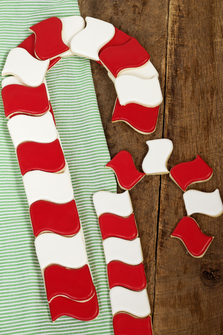 How to Make Candy Cane Cookies People Will Love with thebearfootbaker.com