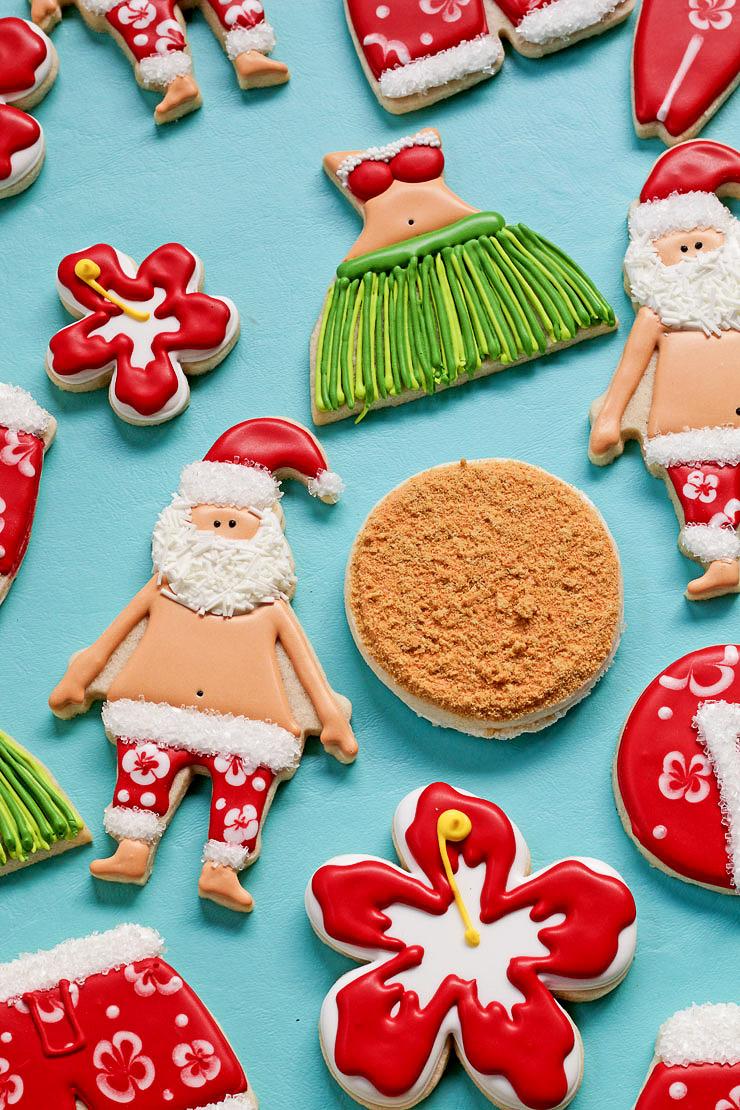 How to Make Easy Mele Kalikimaka Cookies | The Bearfoot Baker