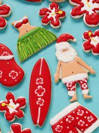 How to Make Festive Mele Kalikimaka Cookies thebearfootbaker.com