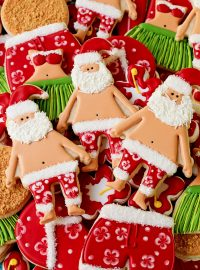 How to Make Fun Mele Kalikimaka Cookies with a Video | The Bearfoot Baker