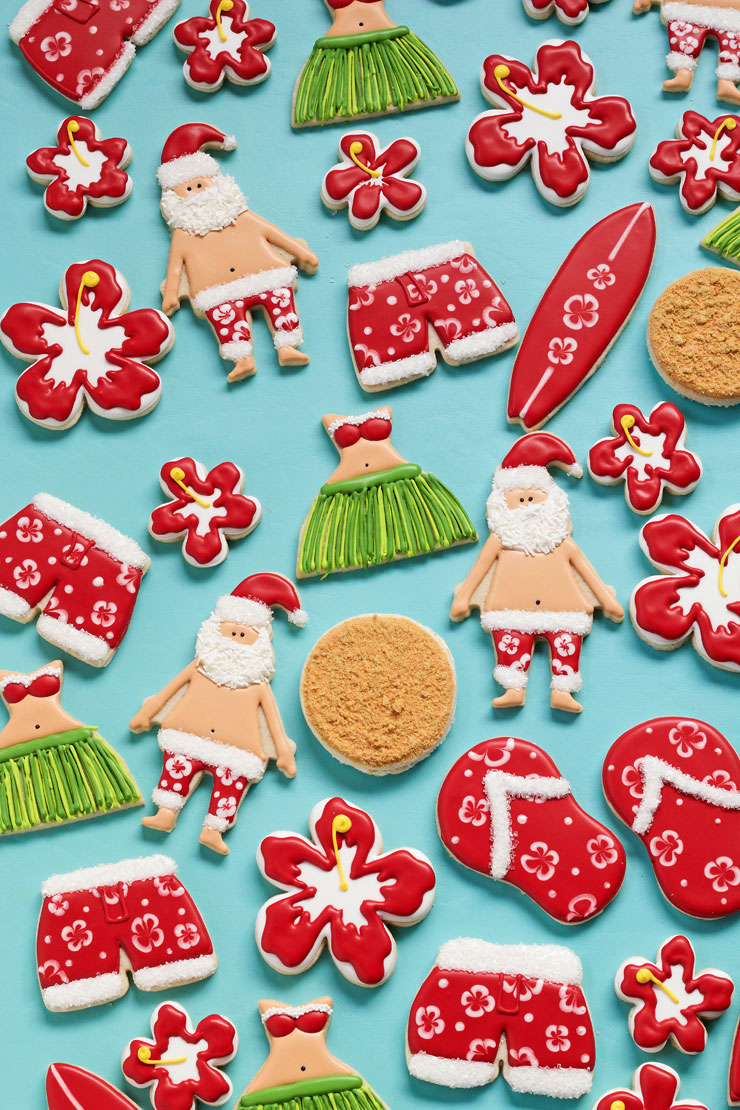 How To Make Mele Kalikimaka Cookies With Video The